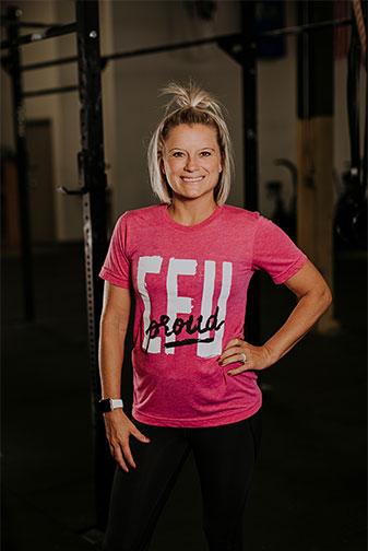 Crossfit Coach Dani Heisler