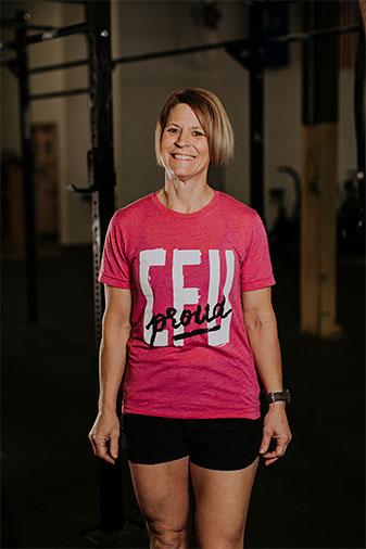 Crossfit Coach Tina Ator