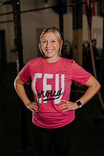Crossfit Coach Paige Lower-Yost