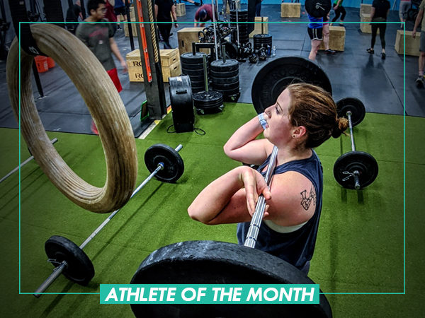 Athlete of the Month – Nicole Lando